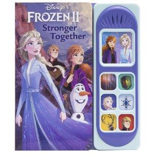 史低价:Disney 冰雪奇缘2 有声书,小手轻按重现电影原声