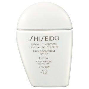 Shiseido- Urban Environment Oil-Free UV Protector Broad Spectrum Face Sunscreen SPF 42
