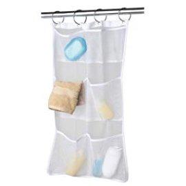 Amazon.com: MAYTEX Quick Dry Mesh Pockets Fabric Bath/Shower Caddy Organizer with Pockets, White, 26 inches x 17 inches: Gateway