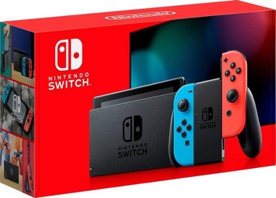 全新续航增强版Nintendo Switch 32GB 红蓝
