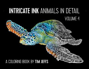 Amazon.com: Intricate Ink: Animals in Detail Volume 4 Coloring Book (9780764986642): Tim Jeffs: Books