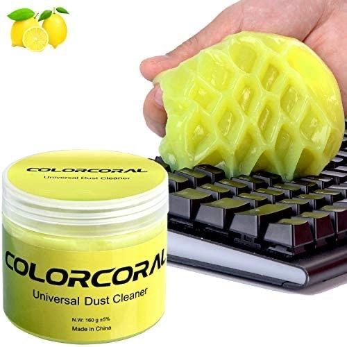 ColorCoral 键盘、汽车内饰 清洁软胶, 家中必备好物