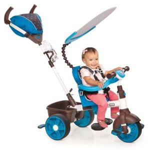 Little Tikes 四合一儿童三轮推车