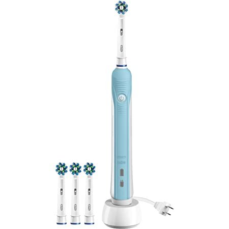 Oral-B Pro 1000 电动牙刷 + 替换刷头 3只