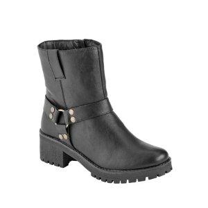 现价$7.50(原价$26.95)Portland Boot Company 女士人造皮靴促销