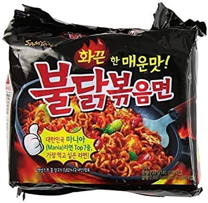 Samyang 速食香辣火鸡拌面 10包