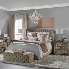 Avignon Bedding - Blush | Jameson Solange Bedroom Inspiration | Bedroom | Inspiration | Z Gallerie