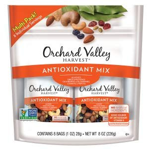 ORCHARD VALLEY HARVEST Antioxidant Mix, Non-GMO, No Artificial Ingredients, 1 oz, 8 count (Pack of 8): Amazon.com: Gateway