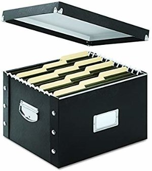 Amazon.com : Snap-N-Store File Box, Letter/Legal Size, Glossy Black (SNS01536) : Storage File Boxes : Office Products