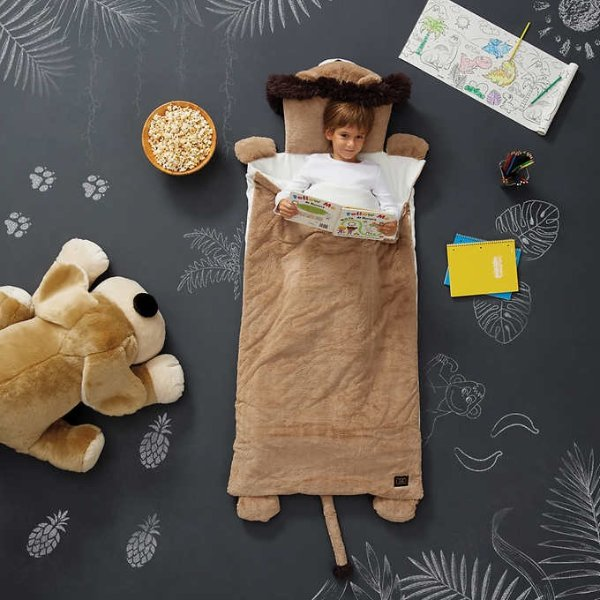 FAO Schwarz 超萌小狮子儿童睡袋,全网最低