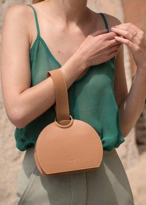 Polène | Number Six - Monochrome Camel - Handbag