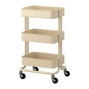 RÅSKOG Utility cart, beige - IKEA
