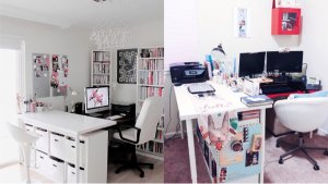 Ikea打造Chic又实用的Home Office <附懒人收纳推荐>-北美省钱快报攻略