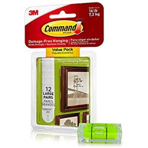 Amazon.com: Command Picture Hanging Strips White Large 12 Pairs: Gateway