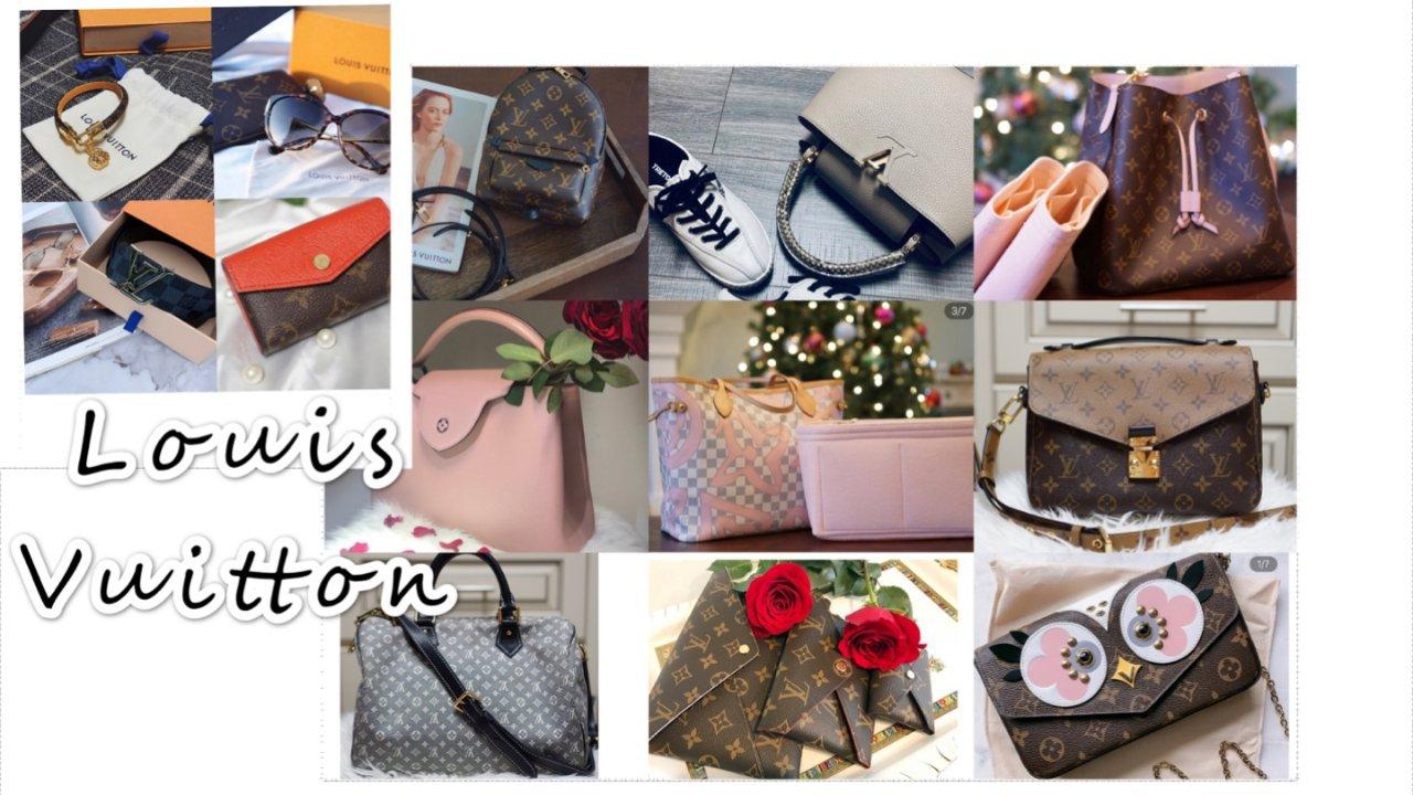 Louis Vuitton |深扒一下多款LV包包的对比(经典VS.时髦)