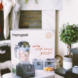 居家生活必备 |性价比超高的Homgeek多功能破壁机,居家厨房好帮手~