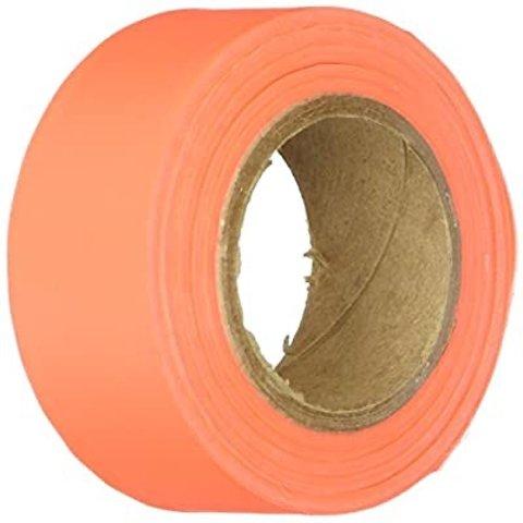 IRWIN Tools STRAIT-LINE Flagging Tape, 150-foot, Glo-Orange