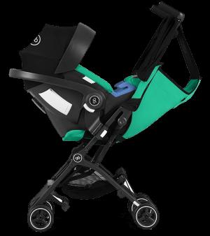 GB Pockit Plus Stroller - Satin Black