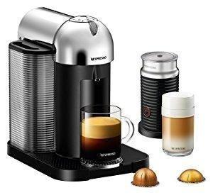 Amazon.com: Breville-Nespresso USA BNV250CRO1BUC1 Vertuo Coffee and Espresso Machine, Bundle - Chrome: Kitchen & Dining