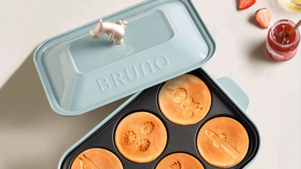 Bruno X Moomin多功能料理锅测评 | 王老爷子的轻食餐