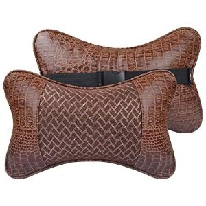 YIHO 车内座位皮头枕 护颈枕