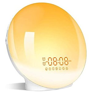 LBell Wake- Up Light, Sunrise Alarm Clock