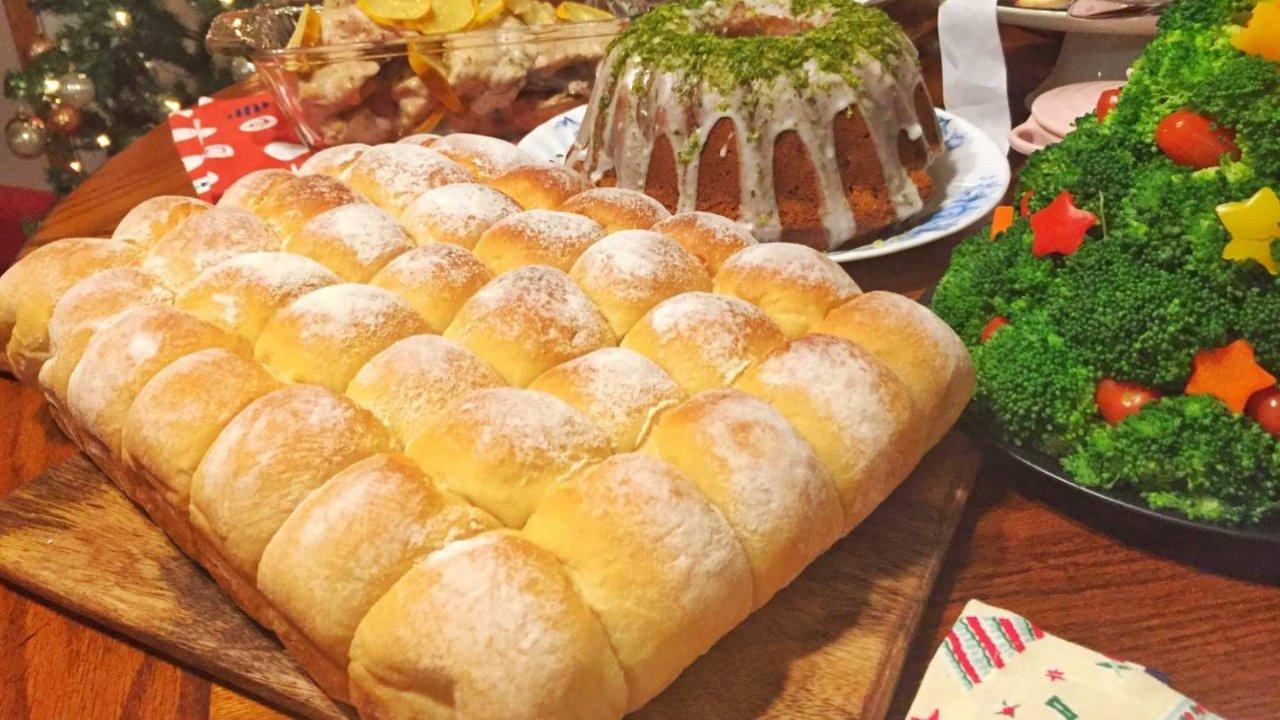 食譜分享|超柔軟的手撕牛奶麵包🍞
