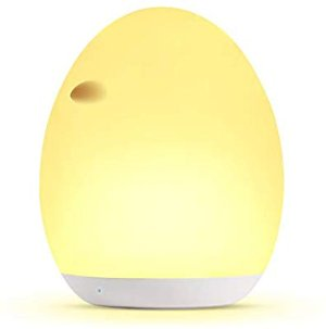 Kids Night Light, Miroco Baby Night Light with Color Changing Mode & Dimming Function, USB Rechargeable Toy-Grade Nursery Lamp with Touch Control & 1 Hour Timer, 100 Hours Runtime - - Amazon.com