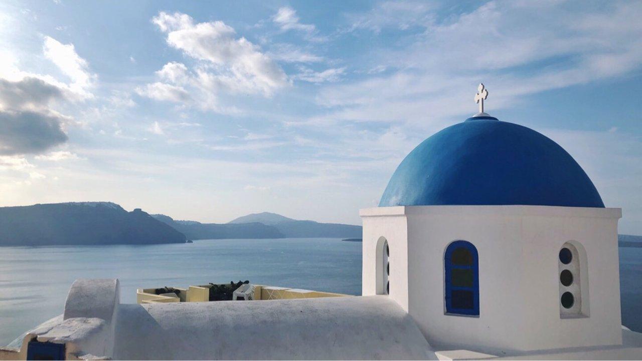 希腊🇬🇷圣托里尼2⃣️日自由行—住宿篇