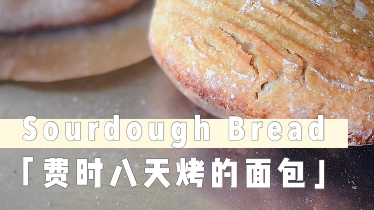 自己在家制作天然酵母面包Homemade Sourdough