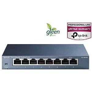 $19.99TP-Link TL-SG108 8口 非管理型 千兆交換機