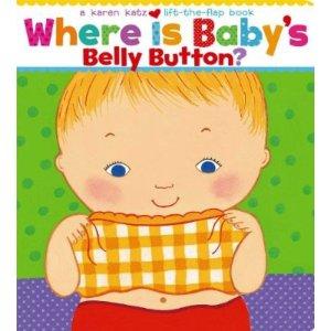 低幼绘本《宝宝的肚脐在哪里?》可翻折纸板书