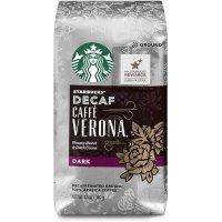 Starbucks Verona 低咖啡因深焙咖啡粉 12oz 6包