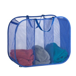 Honey Can Do Mesh Triple Sorter Basket with Handles