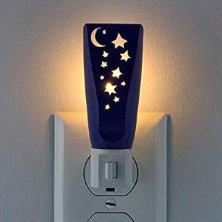 $2.99 包邮Lights By Night 可爱星月小夜灯