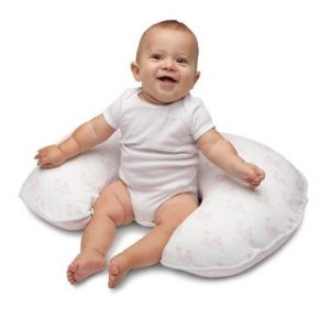 Boppy® Organic Cotton Slipcover in Pink Birds and Hearts - BuyBuyBaby