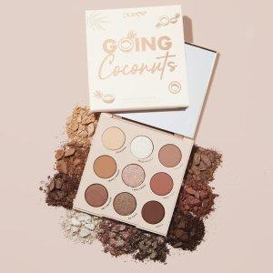 Going Coconuts Bronzed Eyeshadow Palette | ColourPop