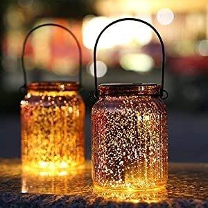 SUNWIND 太阳能梅森罐户外装饰灯 2个装
