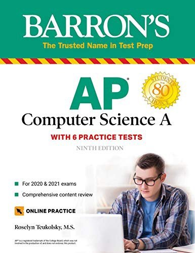 Barron备考系列 AP Computer Science A Kindle eBook