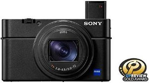 Amazon.com : Sony RX100 VII Premium Compact Camera with 1.0-type stacked CMOS sensor (DSCRX100M7) : Camera & Photo