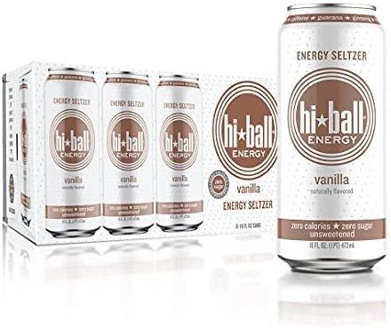 Hiball 香草苏打能力饮料 8罐装