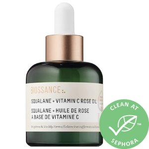 Biossance- Squalane + Vitamin C Rose Oil