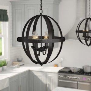 Willa Arlo Interiors Joon Indoor 6-Light LED Globe Chandelier & Reviews | Wayfair