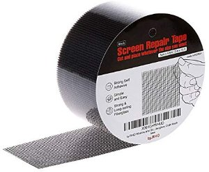 Prevents Intruding Insects Screen Repair Tape.