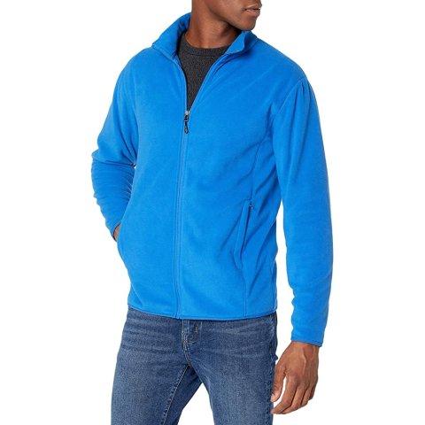 $16.40Amazon Essentials Men's Full-Zip Polar Fleece Jacket