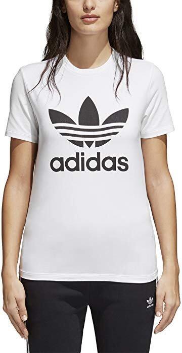 adidas 三叶草经典Logo款女子运动T恤 多色可选