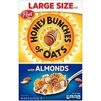 Honey Bunches of Oats 早餐即食麦片 含杏仁片 18Oz