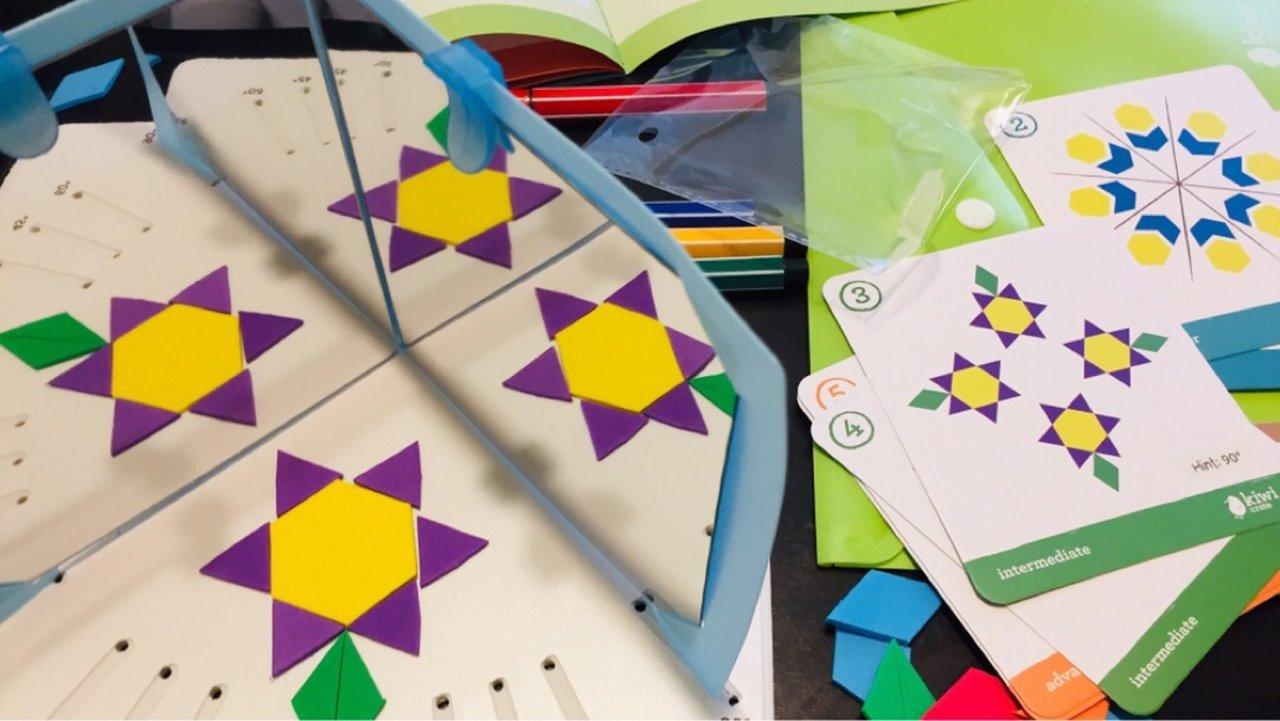 盒子日记7 Kiwi Crate | Kaleidoscope Puzzles