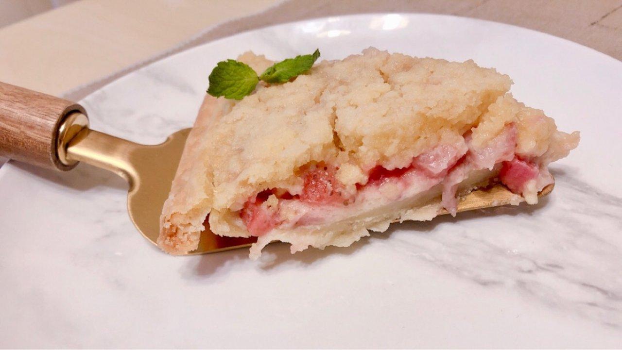 酥粒香甜草莓派|最最最简单的甜品没有之一!