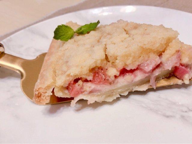 酥粒香甜草莓派|最最最简单的甜品没...